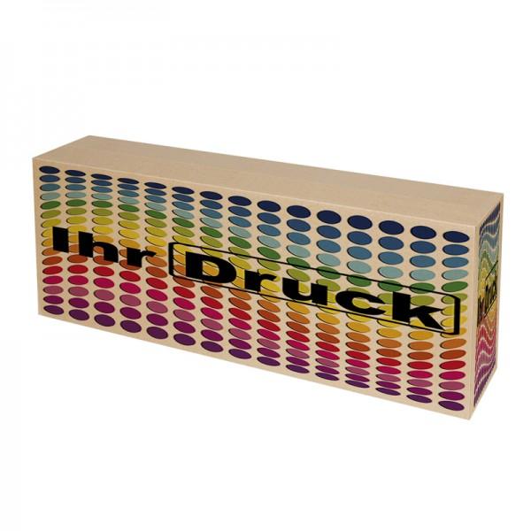 770x150x310 mm einwellige Kartons mit Digitaldruck