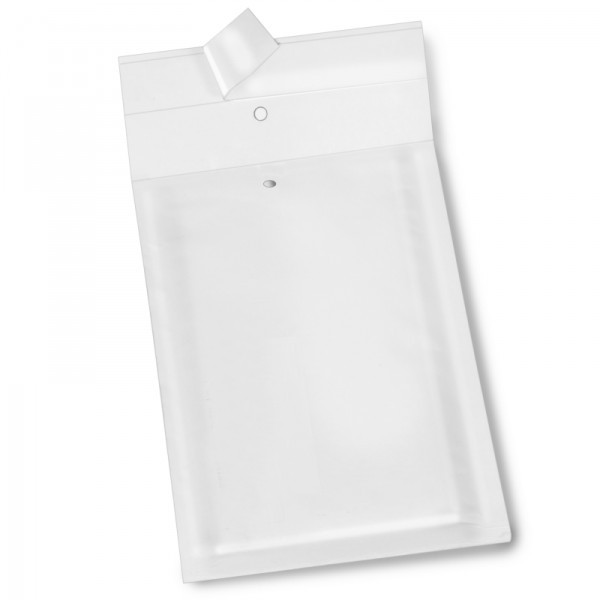 weiße Luftpolstertaschen 100 x 165 mm