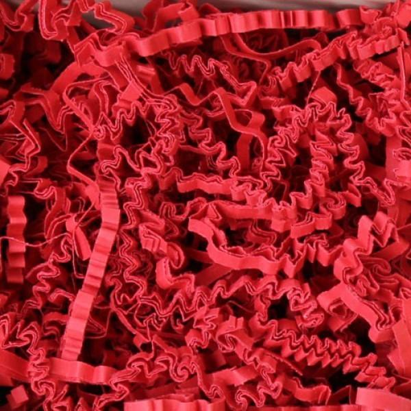 10 kg Deko- Papierfüllmaterial Rubin Rot