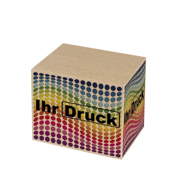 155x110x135 mm einwellige Kartons mit Digitaldruck (4 Seiten)