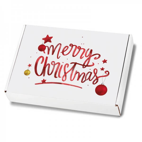 Weihnachtskartons Maxibrief Magic Christmas 250x174x50 mm