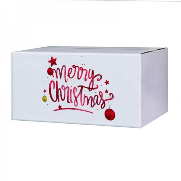"bedruckte Weihnachtskartons ""Magic Christmas"" 400x300x200 mm, B 1.30 w"