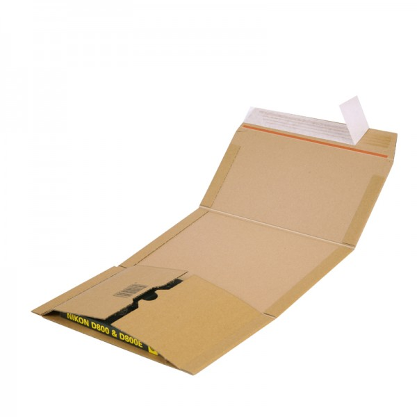 Buchverpackung Quick A5+ 249 x 165 x 0-60 mm