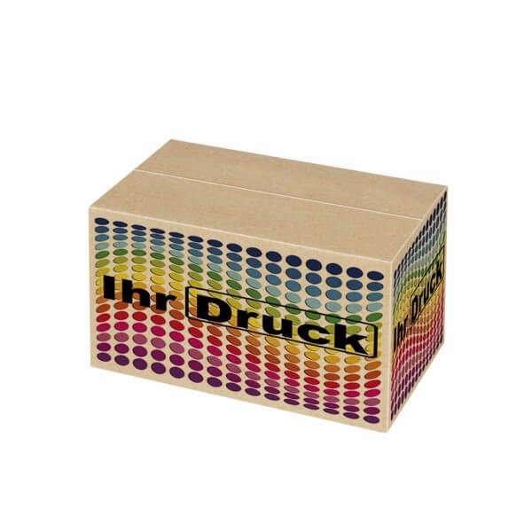 150x80x80 mm einwellige Kartons mit Digitaldruck