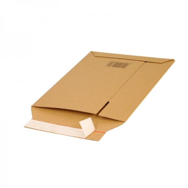 Versandtaschen A4 aus Wellpappe braun 292x210 mm