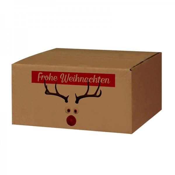 """bedruckte Weihnachtskartons """"Mr. Twinkle"""" 300x215x140 mm B 1.20 b"""