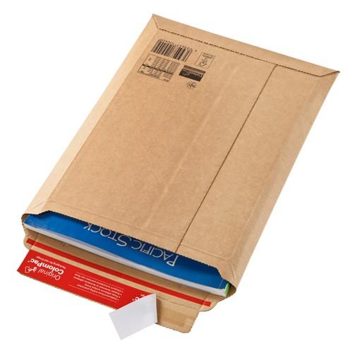 Versandtaschen ColomPac CP 010.09 Premium aus Wellpappe braun