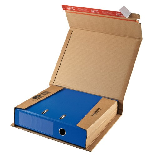 Braune Ordner Versandverpackung A4 Premium