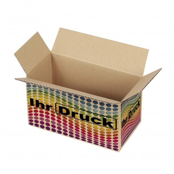 200x100x100 mm einwellige Kartons mit Digitaldruck