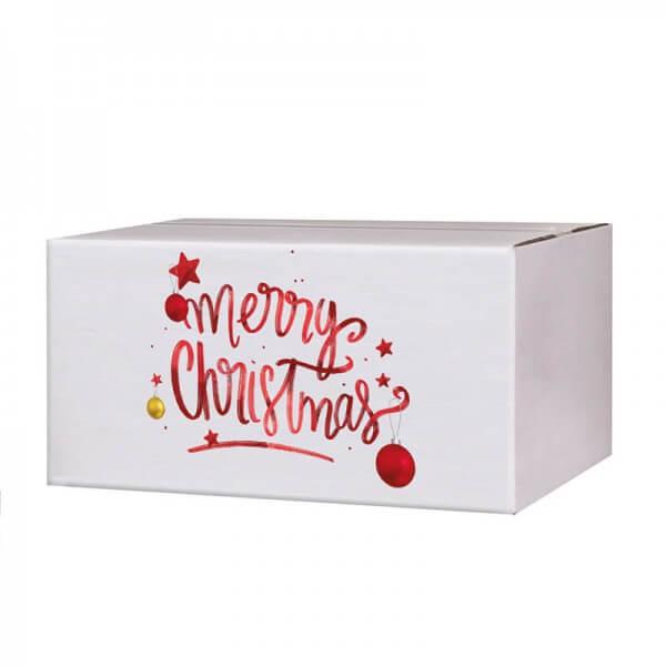 Kartons mit Weihnachtsmotiv Magic Christmas 200x150x90 mm