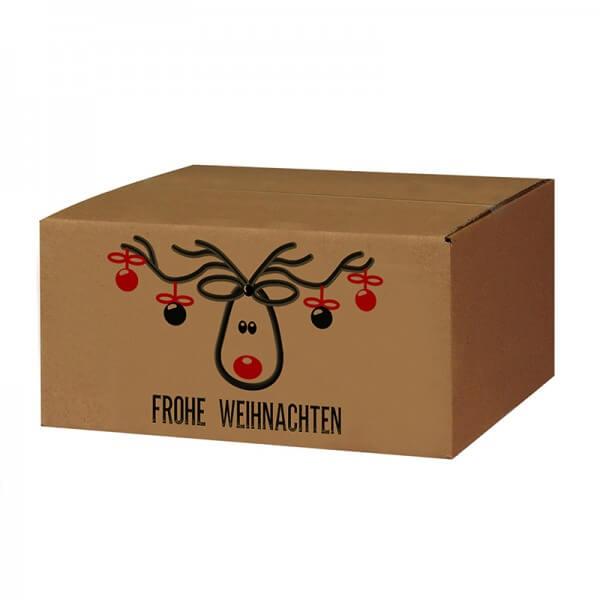 "bedruckte Weihnachtskartons ""Mr. Jingle"" 300x215x140 mm B 1.20 b"