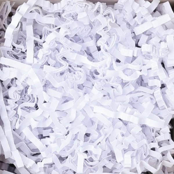 Deko- Papierfüllmaterial Diamant Weiß 5 kg
