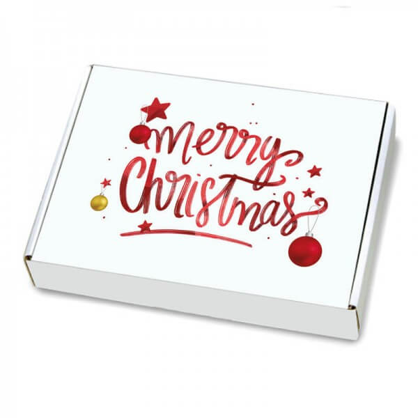 Maxibriefkartons mit Weihnachtsmotiv 350x250x50 mm Magic Christmas