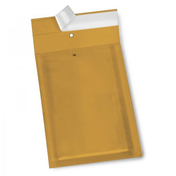 braune Luftpolster Versandtaschen 120 x 220 mm