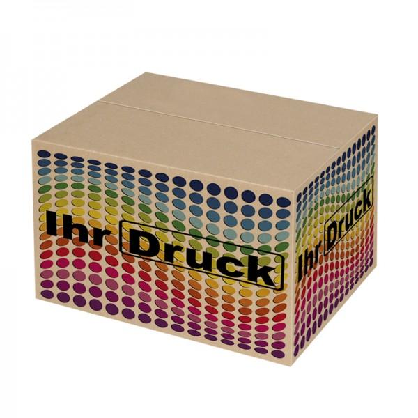 300x200x200 mm einwellige Kartons mit Digitaldruck (4 Seiten)