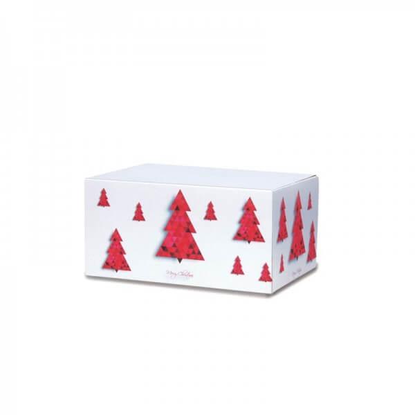 "Weihnachtkartons bedruckt ""Tannenbaum"" 200x150x90 mm"