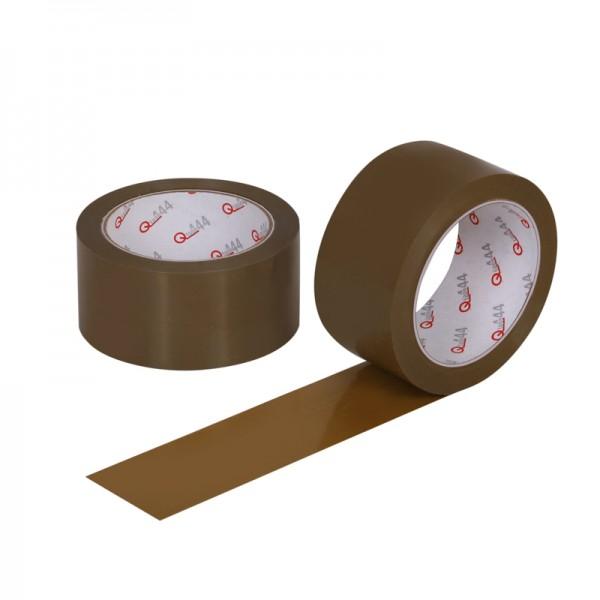 PVC Klebeband Qtape® 444, 50 mm x 66 m braun, stark