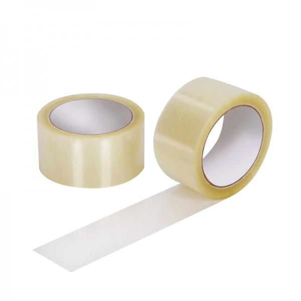 transparentes PP- Klebeband Qtape® 111, 50 mm x 66 m, leise abrollend