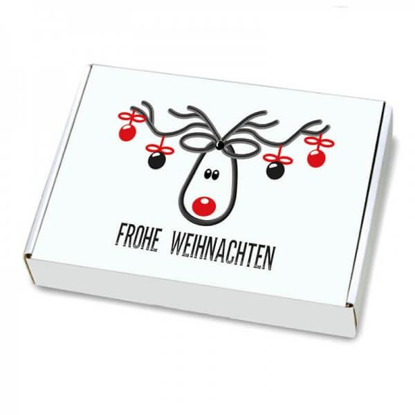 Maxibriefkartons mit Weihnachtsmotiv 350x250x50 mm Mr. Jingle
