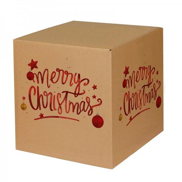 "bedruckte Weihnachtskartons ""Magic Christmas"" 300x300x300 mm, B 1.20 b"