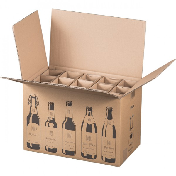 15er Bier-Versandkarton 440x255x288 mm