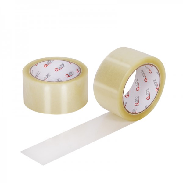 PP- Klebeband Qtape® 222, 50 mm x 66 m transparent, leise abrollend