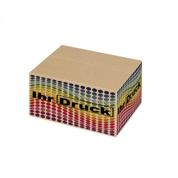 245x175x100 mm einwellige Kartons mit Digitaldruck