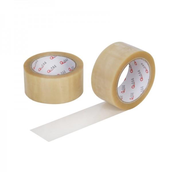 transparentes PVC Klebeband Qtape® 444, stark, 50 mm x 66 m