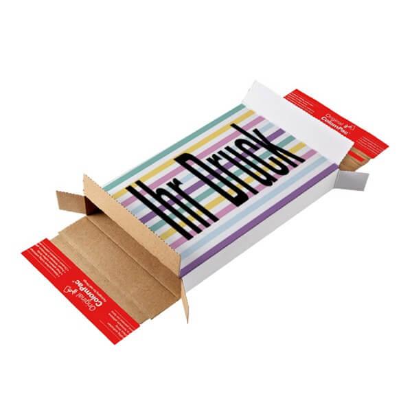 Maxibriefkartons 225x145x34 mm mit 4c Digitaldruck