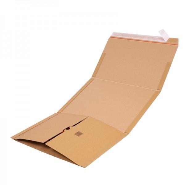 Buchverpackung Quick B4  378 x 295 x 0-80 mm