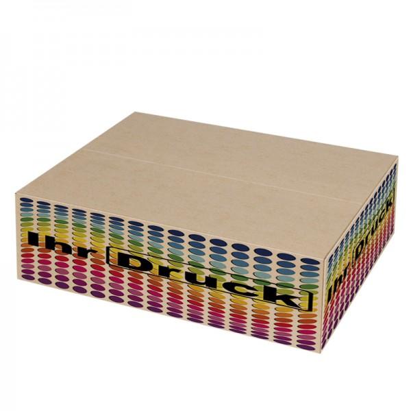 450x320x135 mm einwellige Kartons mit Digitaldruck