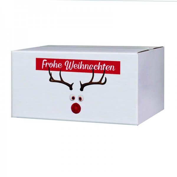 """bedruckte Weihnachtskartons """"Mr. Twinkle"""" 400x300x200 mm, B 1.30 w"""