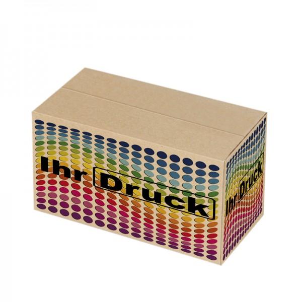 215x155x135 mm einwellige Kartons mit Digitaldruck