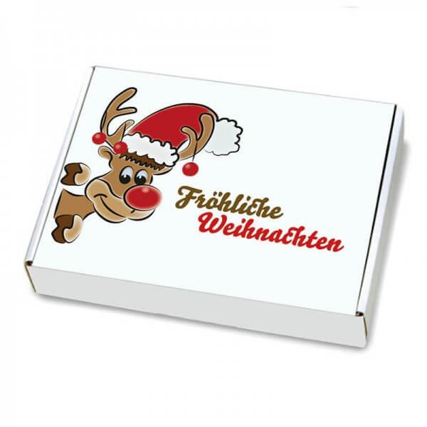 Maxibriefkartons mit Weihnachtsmotiv 350x250x50 mm Mr. Holly