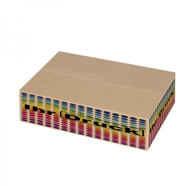 305x215x80 mm einwellige Kartons mit Digitaldruck