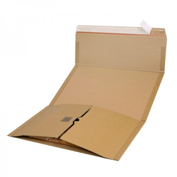 Buchverpackung Quick A3 455 x 325 x 0-80 mm