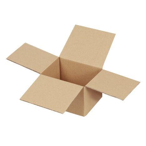 Kartons einwellig 125x100x80 mm