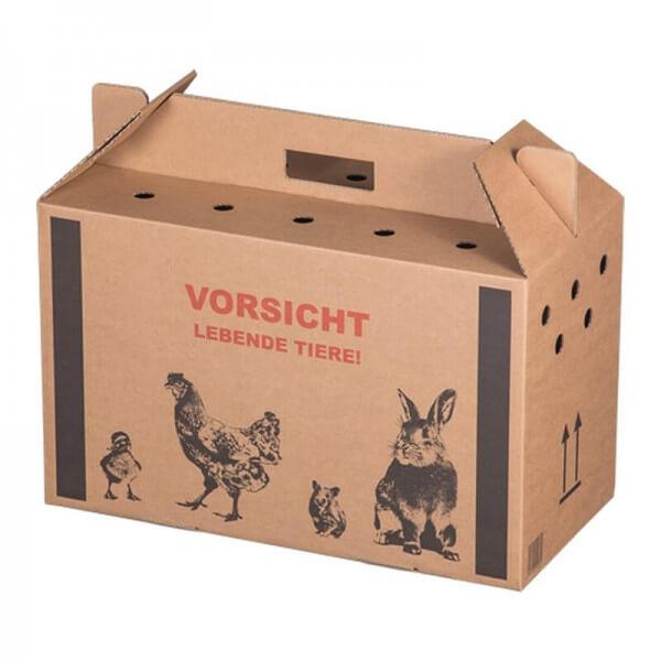 Transportboxen für lebende Kleintiere Größe -K- 477x233x295 mm