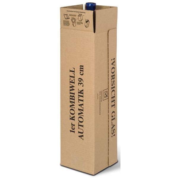 1er Kombiwell Flaschenkarton stehend 93x93x390 mm