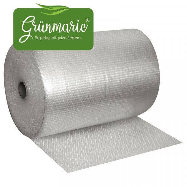 Grünmarie® Recycling Luftpolsterfolie ECO 2- lagig 1,00x100 m