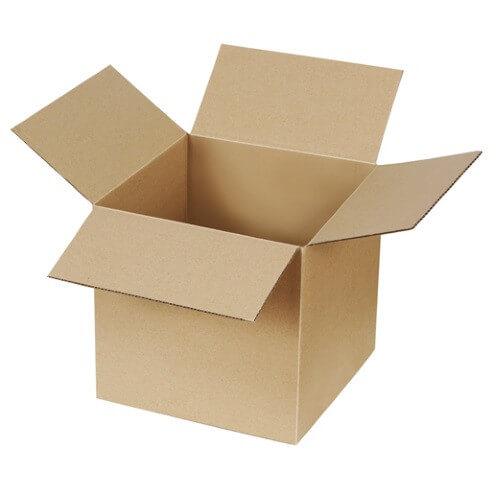 Kartons einwellig 200x200x200 mm