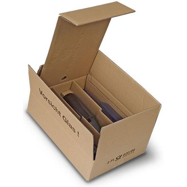 3er Kombiwell Flaschenkarton liegend 385x280x98 mm