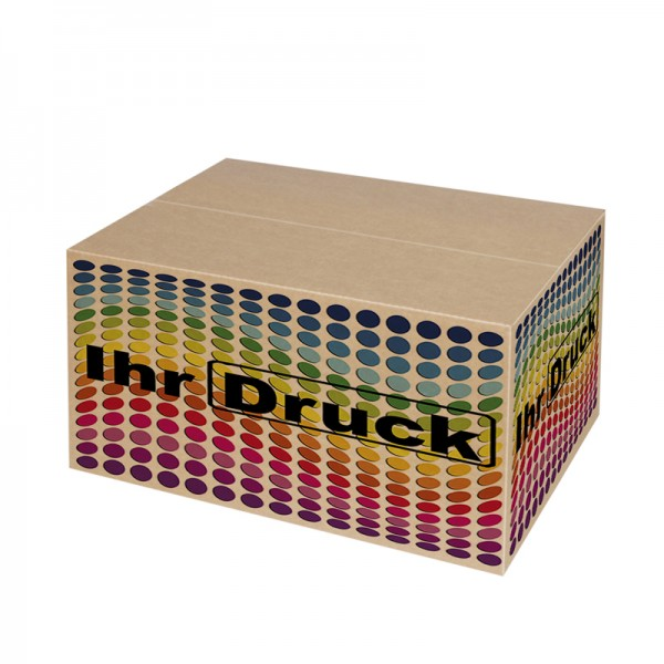 430x300x250 mm einwellige Kartons mit Digitaldruck