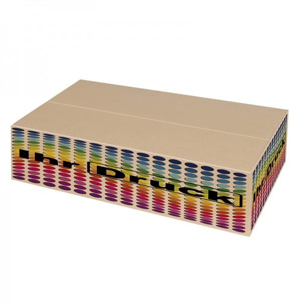 630x440x100 mm einwellige Kartons mit Digitaldruck