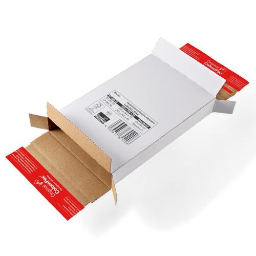 Maxibrief Kartons 216x139x29 mm, weiß