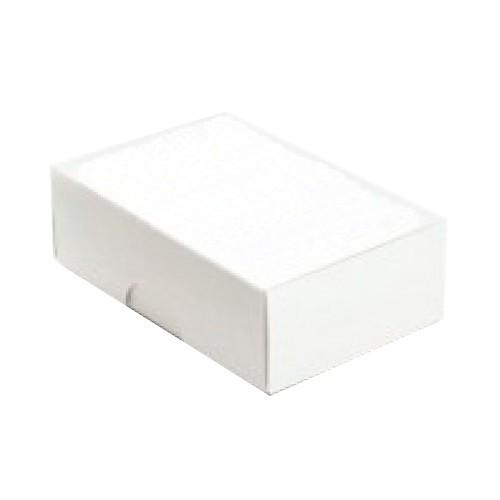 Visitenkartenkartons weíß (ohne Fenster) 90x58x30 mm