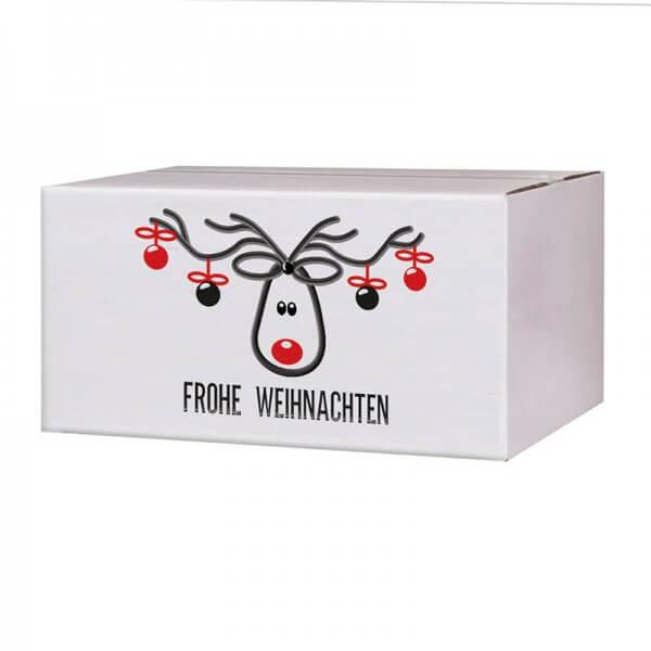 Kartons mit Weihnachtsmotiv Mr. Jingle 200x150x90 mm