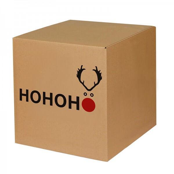 """bedruckte Weihnachtskartons """"Elchnase"""" 300x300x300 mm, B 1.20 b"""