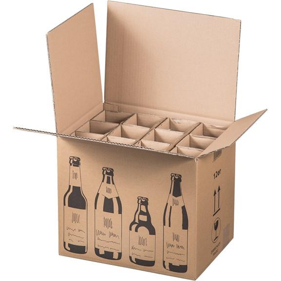 12er Bier-Versandkarton 353x255x288 mm