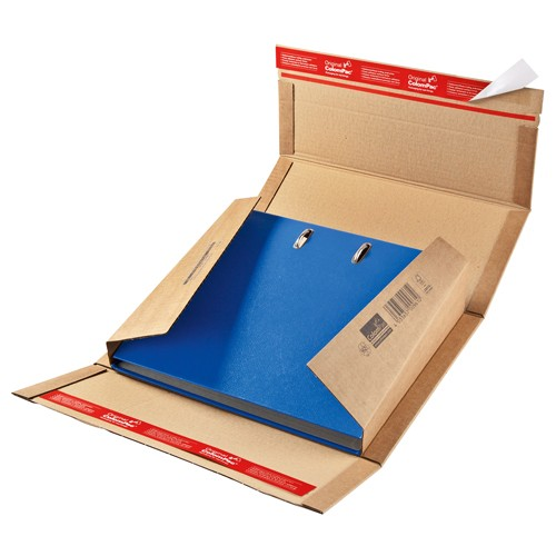 Wiederverschließbare Ordnerverpackung mit doppeltem SK Verschluß